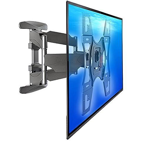 NB DF600 - Grand support mural orientable de qualité pour téléviseurs LCD LED Plasma 32