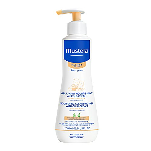 Mustela Moisturizing Cleansing Gel With Cold Cream 300ml