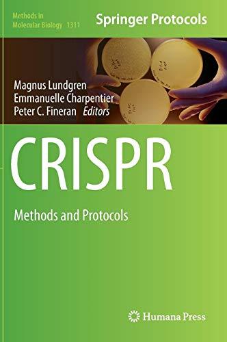 CRISPR: Methods and Protocols (Methods in Molecular Biology, Band 1311)