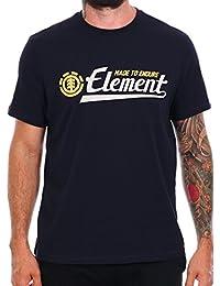 Tee shirt Element Signature Eclipse Bleu Fonce