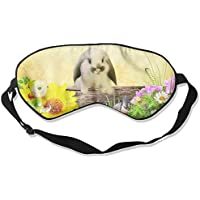 Eye Mask Eyeshade Rabbit Flower Sleeping Mask Blindfold Eyepatch Adjustable Head Strap preisvergleich bei billige-tabletten.eu