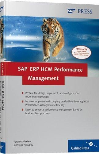 SAP ERP HCM Performance Management by Christos Kotsakis (2007-10-28) par Christos Kotsakis; Jeremy Masters
