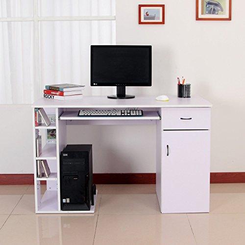 Mesa de Ordenador PC 120x60x74 cm Oficina Despacho Escritorio Mobiliar
