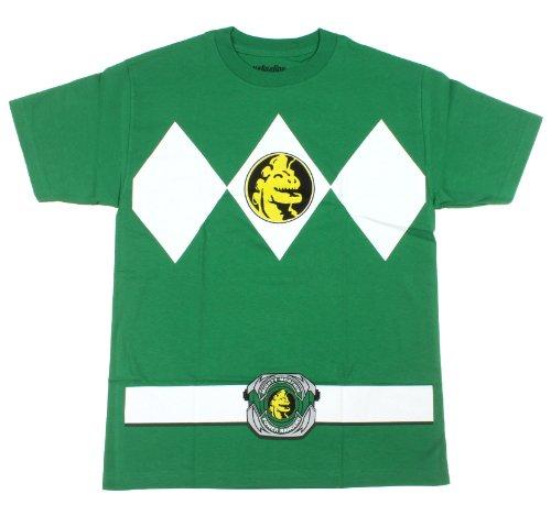 Rangers Kostüm Erwachsene T-Shirt, Small ()