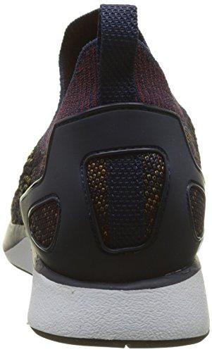 Nike Air Zoom Mariah Flyknit Racer, Sneaker Uomo Blu (marine Collège / Bordeaux-désert Moss-noir)