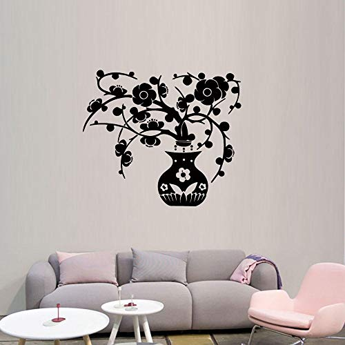 Wandaufkleber Kreative Pflaumen Karte Wohnzimmer Schlafzimmer Kunst Dekoration Wandbild Feuchtigkeitsdichten Abnehmbare Diy Aufkleber 43 * 47 Cm