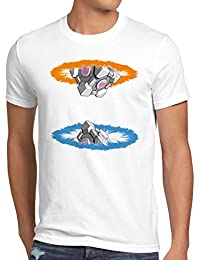 style3 Companion Cube T-Shirt Homme