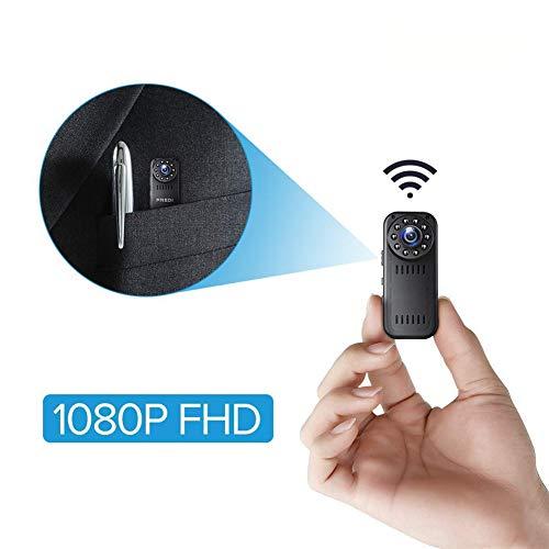 Balscw-J Spy Camera, 1080P HD WiFi Telecamera Nascosta Mini Spy Cam, Piccole telecamere di sorveglianza di Sicurezza Domestica, Visione Notturna/Motion Detection/Vista remota