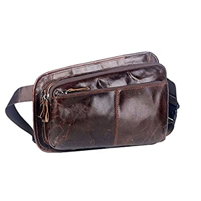 Genda 2Archer Sac banane en cuir Style Vintage sac de taille