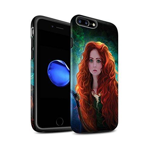 Officiel Elena Dudina Coque / Matte Robuste Antichoc Etui pour Apple iPhone 7 Plus / Notre Dame Design / Caractère Conte Fées Collection Princesse