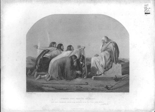 Il Cappotto di Joseph Portato alla Religione della Stampa dell'Oggetto D'antiquariato di Jacob