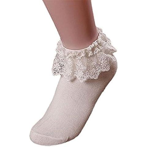 Coffeepop dicono le donne s Retro, con orlo in pizzo Princes caviglia Calzini da uomo in cotone