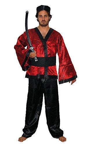 Imagen de el carnaval disfraz samurai adulto