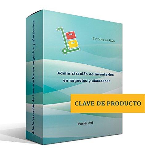 Administración de inventarios en negocios y almacenes [clave de producto, sin disco]