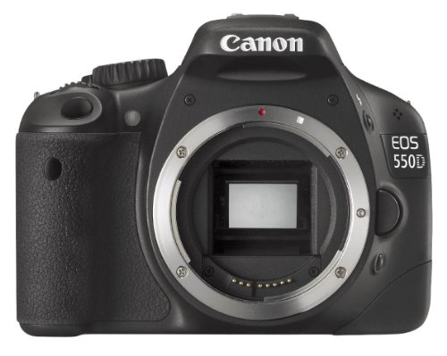 Canon EOS 550D SLR-Digitalkamera (18 MP, LiveView, Gehäuse) -