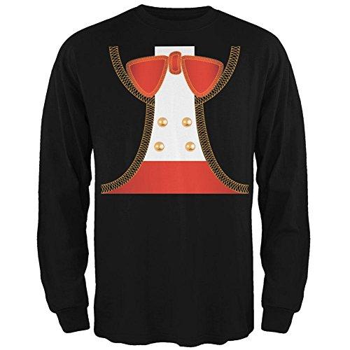 Old Glory Halloween Mariachi Kostüm Herren Long Sleeve T Shirt schwarz 2XL