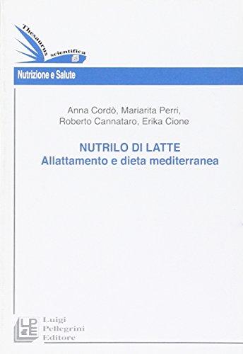 nutrilo di latte. allattamento e dieta mediterranea