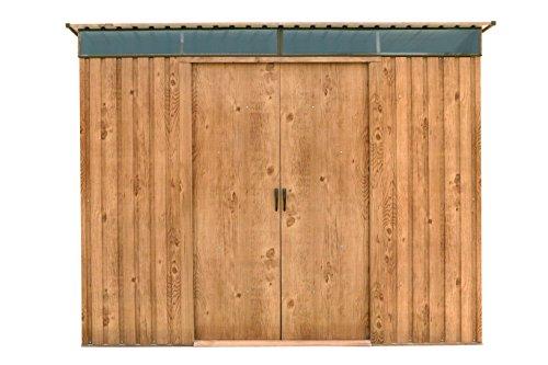 Duramax 503458x 6Ft Pultdach Skylight Schuppen-Holzmaserung - 6 X Schuppen 8