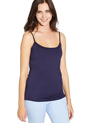 Balsamik - Damen Stretchjäckchen - Damen Blau dunkel solid