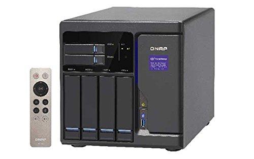 Qnap  TVS-682-i3-8G 3.7GHz i3 DualCore 6-Bay NAS 24TB Bundle mit 4x 6TB WD60EFRX WD Red | 0789470824476