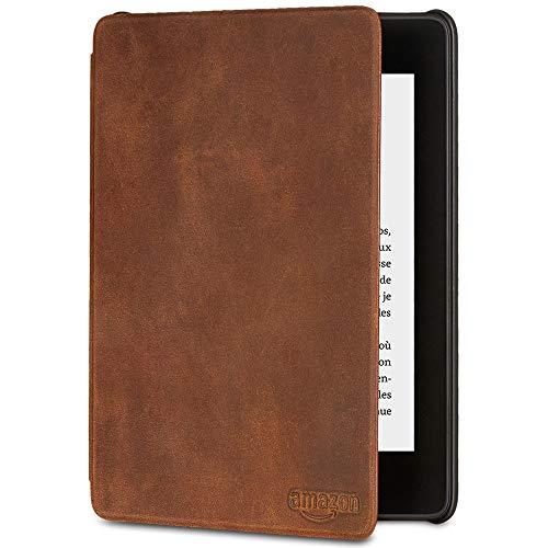 Étui Amazon en cuir de première qualité pour Kindle Paperwhite (10ème génération - modèle 2018)