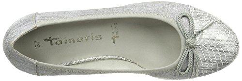 Tamaris 22461, Chaussures Femme À Talon Argenté (steel Str.comb 245)