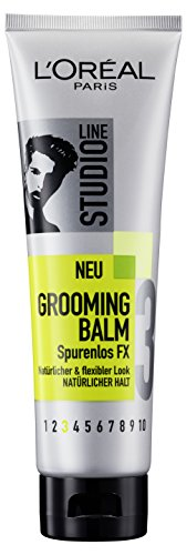 L'Oréal Paris Studio Line Spurenlos FX Grooming Balm Natürlicher Halt, 6er Pack (6 x 150 ml)