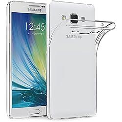 AICEK Coque Samsung Galaxy A3 2015, Etui Silicone Gel Samsung Galaxy A3 2015 (A300F/A300FU) Housse Antichoc Samsung A3 Transparente Souple Coque de Protection pour Samsung Galaxy A3 2015 (4.5 Pouces)