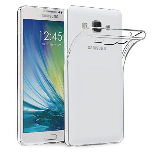 Soft-silikon-hülle (Samsung Galaxy A5 2015 Hülle Case, AICEK Galaxy A5 2015 Case Silikon Soft TPU Crystal Clear Premium Durchsichtig Handyhülle Schutzhülle Case Backcover Bumper Slimcase für Galaxy A5 2015)