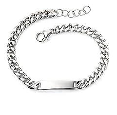 Idea Regalo - Elements Silver Braccialetto a catenina Bambini e ragazzi argento - AZ-B5077