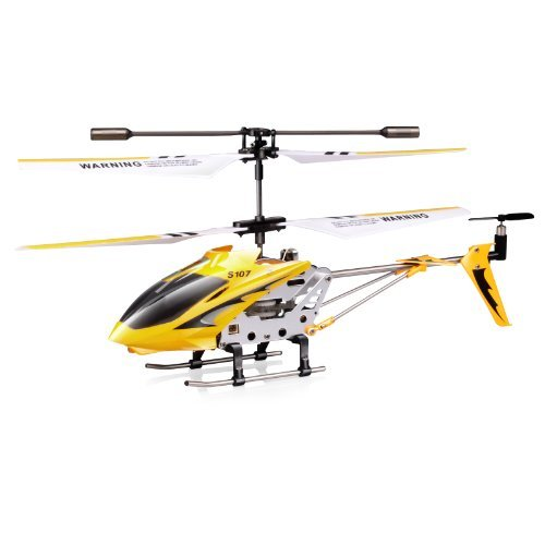 Syma S107/S107G 3 Channel RC Heli with Gyro - Yellow Color: Yellow, Model: S107G, Toys & Gaems