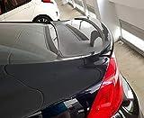 Spoiler Posteriore, per S60 / S60L 2011-2018 Materiale ABS di Alta qualità Car Rear Wing Color Primer Primer Spoiler Posteriore,Black