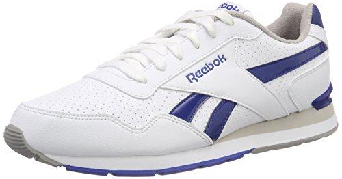 Reebok Glide S Clip, Scarpe da Trail Running Uomo, Bianco (White/Team Dark Royal/Carbon/Steel 000), 39 EU