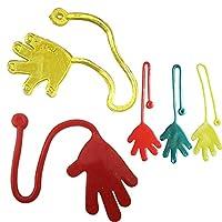 OIKAY Kids Novelties Toys,5Pcs Kids Sticky Hands Palm Party Favor Toys Novelties Prizes Birthday Gift