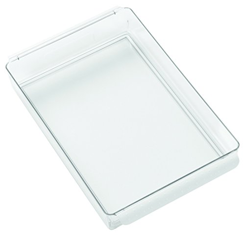 Bandeja transparente de plástico