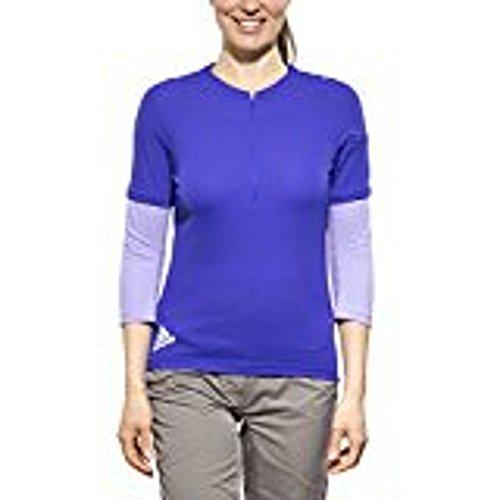 adidas Trail Sport 3/4 Jersey Women night flash/flash purple Größe L 2015 Radtrikot