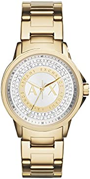 Armani Exchange Womens Quartz Watch, Analog Display and Stainless Steel Strap AX4321, One size