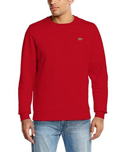 Lacoste Sport Herren SH7613 Sweatshirt, Rot (Rouge 240), XL (Hersteller Größe : 6)
