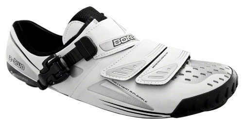 Bont a – Due Road shoe bianco Brown/White