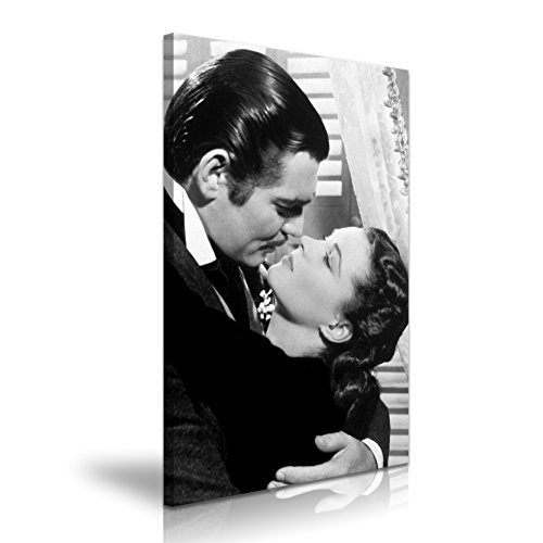 Gone With The Wind Movie Bild auf Leinwand Druck 50 x 76 cm (Gone With The Wind Bilder)