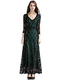 Amazon.it  vestito verde - 2XL   Donna  Abbigliamento 2807e0ae307