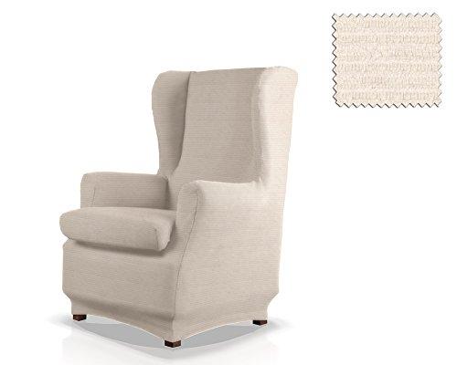 JM Textil Funda sillón orejero elástica Simba Tamaño