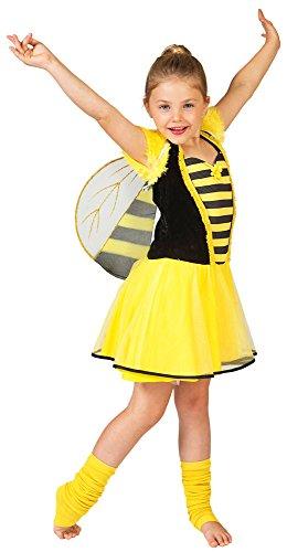 Biene Bonnie Kostüm für Mädchen Gr. (Biene Für Kinder Kostüme)