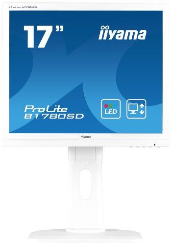 Iiyama B1780SD-W1 17 inch Widescreen LED Monitor (1000:1, 250 cd/m, 5ms)