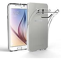 Samsung Galaxy S6 Hülle Case, EasyAcc Liquid Crystal Ultra Dünn Crystal Clear Transparent Handyhülle Cover Soft Premium-TPU Durchsichtige Schutzhülle Backcover Slimcase für Samsung Galaxy S6