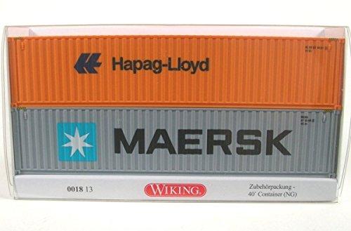 wiking-001813zubehorpackung-40-container-ng-maersk-hapag-lloyd-187