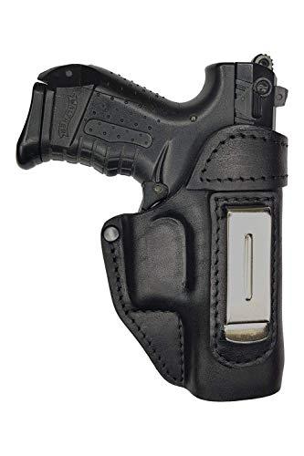 VlaMiTex IWB 2 Leder Holster für Walther P22 / Ruger SR 22 Verdeckte/Versteckte Trageweise -