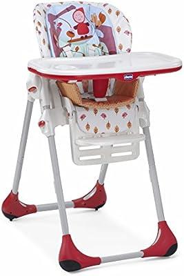 Chicco Polly - Trona 2 en 1 para niños de 6 meses a 3 años, compacta, 10 kg