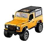 Ginli Telecomando per auto fuoristrada RC Telaio in alluminio 1:16 RC 2.4GHz 4WD...