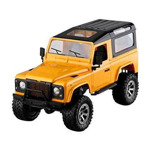 Frame-sync (Fuibo RC 1:16 2,4 GHz 4WD Geländewagen Frame Truck RC Auto Fernbedienung Neu Für Kinder und Erwachsene Spielzeug (Gelb))